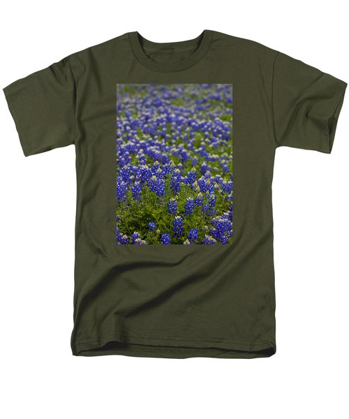Bluebonnets Forever Men's T-Shirt  (Regular Fit) by Mark Alder
