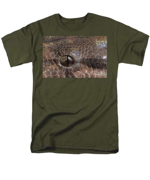 Boa Constrictor Men's T-Shirt  (Regular Fit) by Chris Mattison FLPA