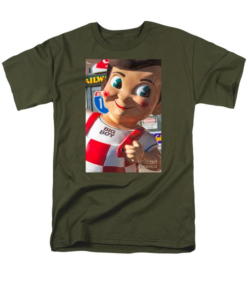 Bob's Big Boy Men's T-Shirt  (Regular Fit) by Jerry Fornarotto
