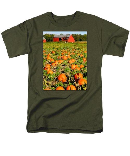 Bountiful Crop Men's T-Shirt  (Regular Fit) by Kathy Barney