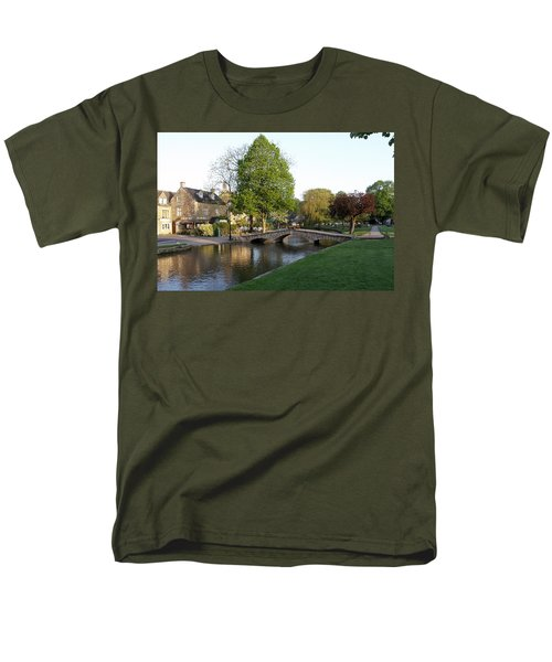 Bourton On The Water 2 Men's T-Shirt  (Regular Fit) by Ron Harpham