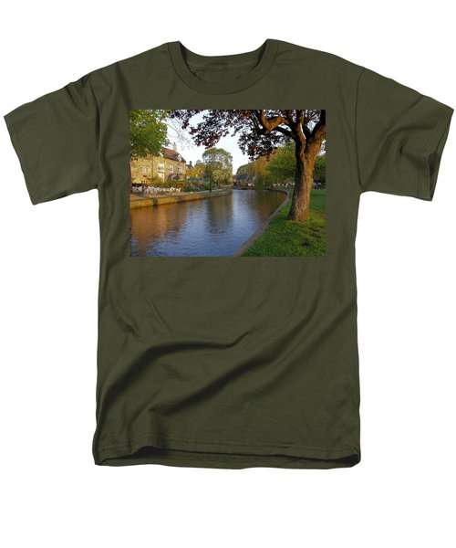 Bourton On The Water 3 Men's T-Shirt  (Regular Fit) by Ron Harpham