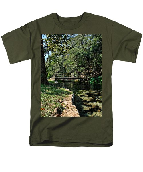 Bridge Of Serenity Men's T-Shirt  (Regular Fit) by Judy Vincent