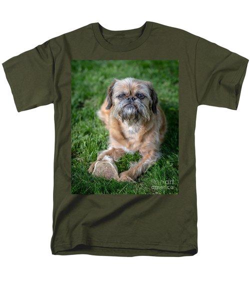 Brussels Griffon Men's T-Shirt  (Regular Fit) by Edward Fielding