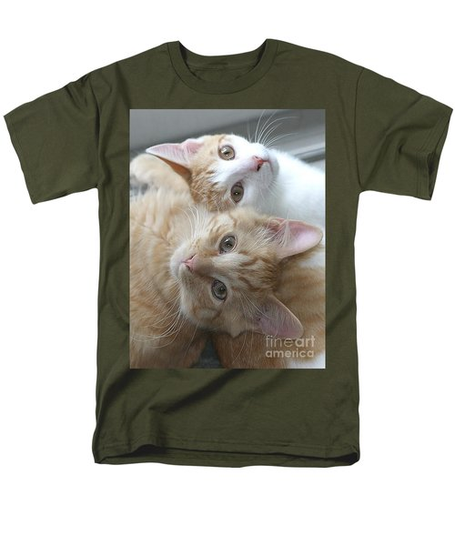 Buddies For Life Men's T-Shirt  (Regular Fit) by Living Color Photography Lorraine Lynch