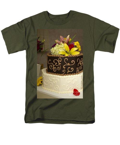 Burns 7386 Men's T-Shirt  (Regular Fit) by Alycia Christine