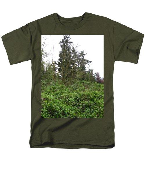 Bus Stop Greenbelt Men's T-Shirt  (Regular Fit) by David Trotter
