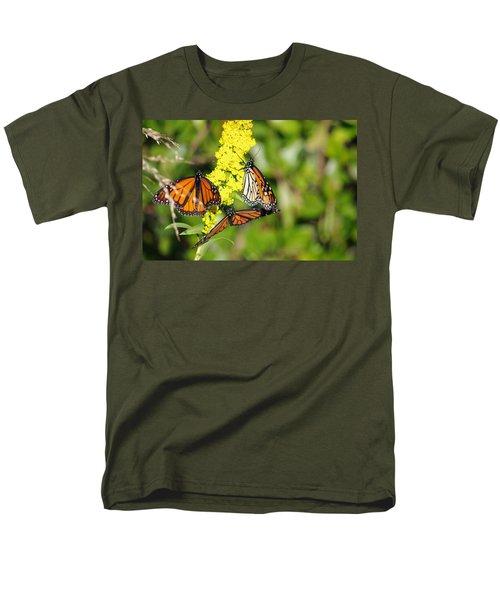 Men's T-Shirt  (Regular Fit) featuring the photograph Butterflies Abound by Greg Graham