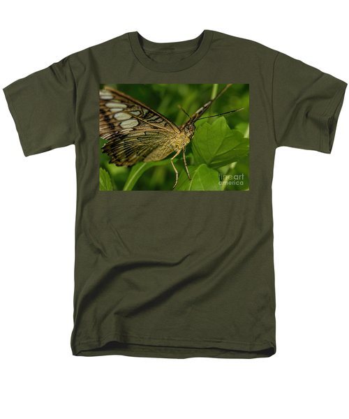 Men's T-Shirt  (Regular Fit) featuring the photograph Butterfly 2 by Olga Hamilton