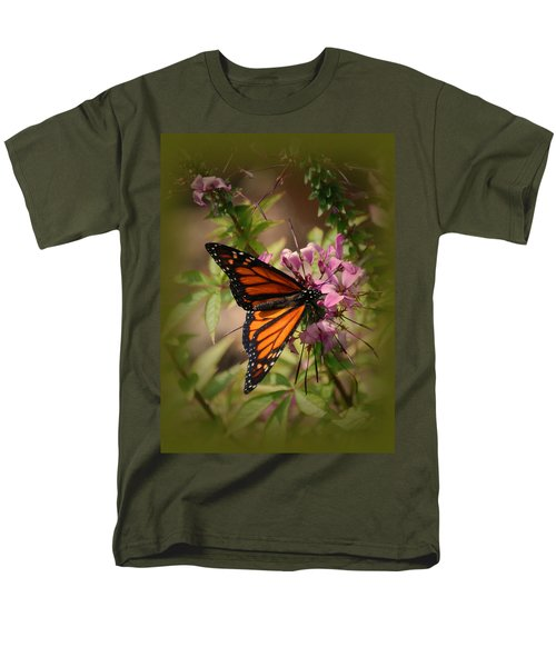 Men's T-Shirt  (Regular Fit) featuring the photograph Butterfly 5 by Leticia Latocki