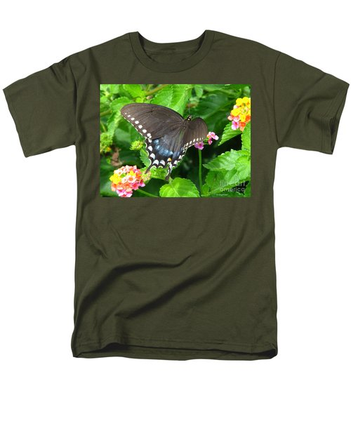 Butterfly Ballot Men's T-Shirt  (Regular Fit) by Greg Patzer