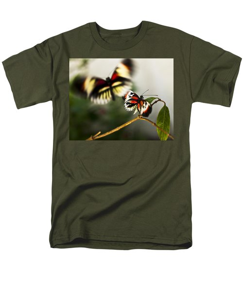 Butterfly In Flight Men's T-Shirt  (Regular Fit) by Bradley R Youngberg