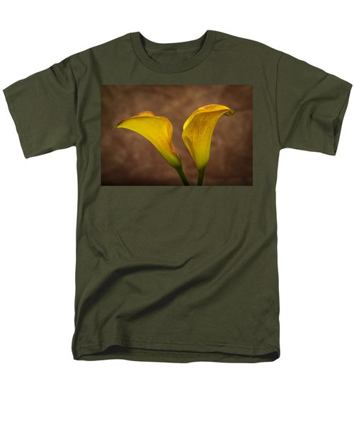 Men's T-Shirt  (Regular Fit) featuring the photograph Calla Lilies by Sebastian Musial