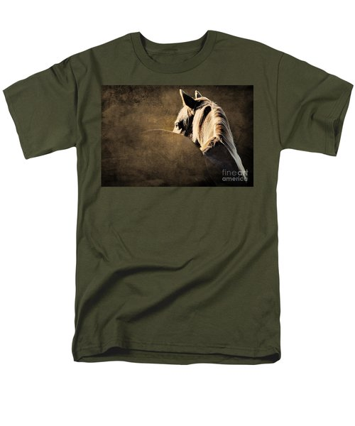 Calm Awareness 2 Vignette Men's T-Shirt  (Regular Fit) by Michelle Twohig