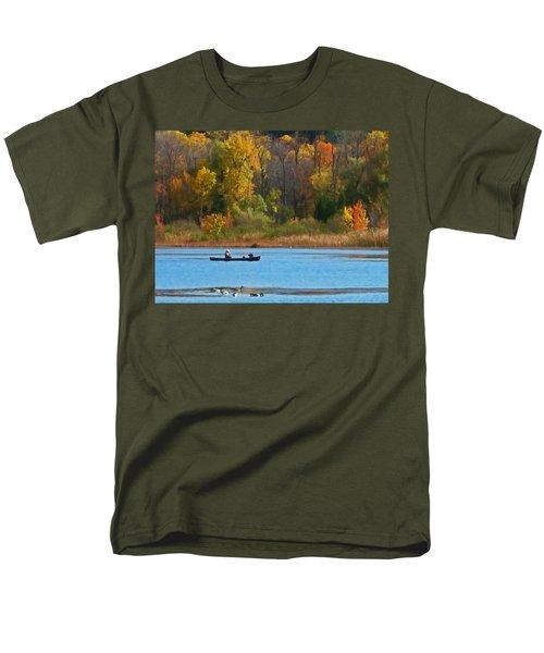 Canoer 2 Men's T-Shirt  (Regular Fit) by Aimee L Maher Photography and Art Visit ALMGallerydotcom