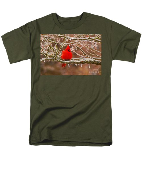 Cardinal Men's T-Shirt  (Regular Fit) by Mary Carol Story