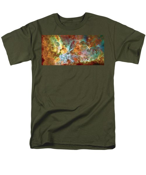 Carina Nebula - Interpretation 1 Men's T-Shirt  (Regular Fit) by Jennifer Rondinelli Reilly - Fine Art Photography