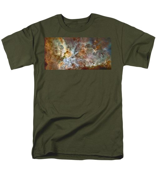 Carinae Nebula Men's T-Shirt  (Regular Fit) by Sebastian Musial