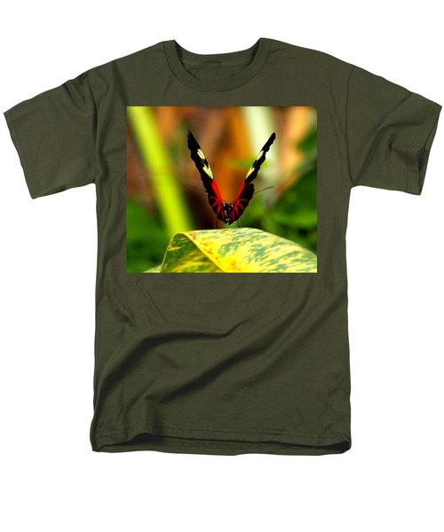 Men's T-Shirt  (Regular Fit) featuring the photograph Cattleheart Butterfly  by Amy McDaniel