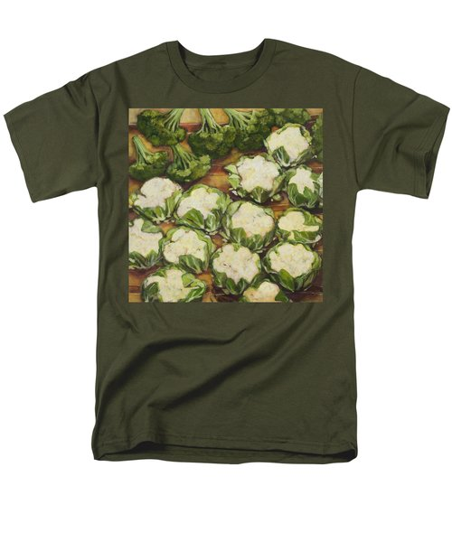 Cauliflower March Men's T-Shirt  (Regular Fit) by Jen Norton
