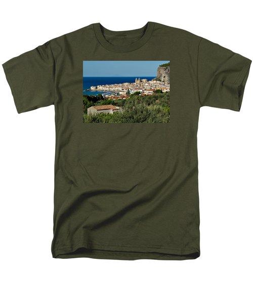 Cefalu Sicily Men's T-Shirt  (Regular Fit) by Alan Toepfer