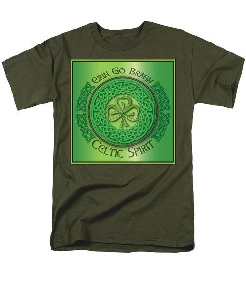 Celtic Spirit Men's T-Shirt  (Regular Fit) by Ireland Calling