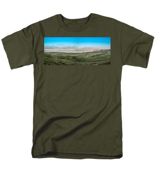 Chambers Bay Panorama Men's T-Shirt  (Regular Fit) by E Faithe Lester