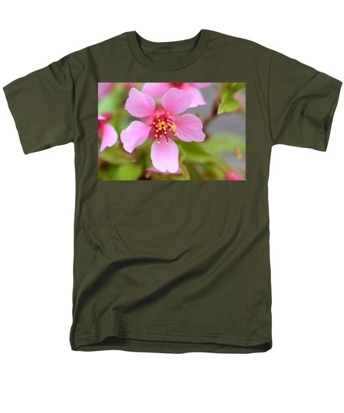 Cherry Blossom Men's T-Shirt  (Regular Fit) by Lisa Phillips