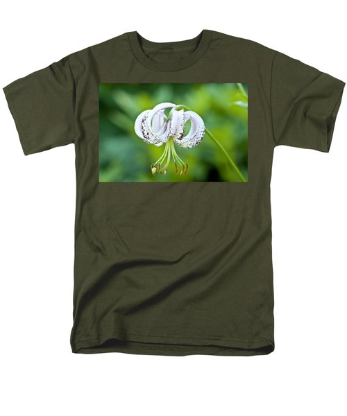 Men's T-Shirt  (Regular Fit) featuring the photograph Chinese Lily by Lana Enderle