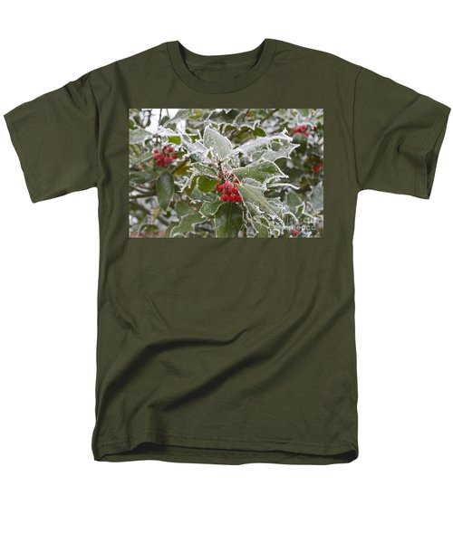 Christmas Greetings Men's T-Shirt  (Regular Fit) by Felicia Tica