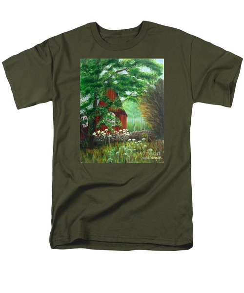 Church In The Glen Men's T-Shirt  (Regular Fit) by Laurie Morgan