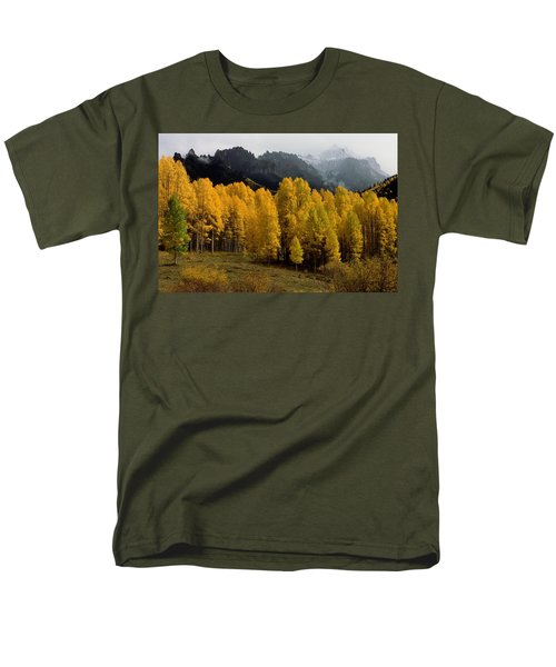Cimarron Forks Men's T-Shirt  (Regular Fit) by Eric Glaser
