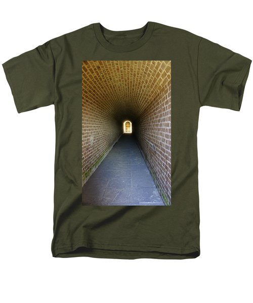 Clinch Hall Men's T-Shirt  (Regular Fit) by Laurie Perry