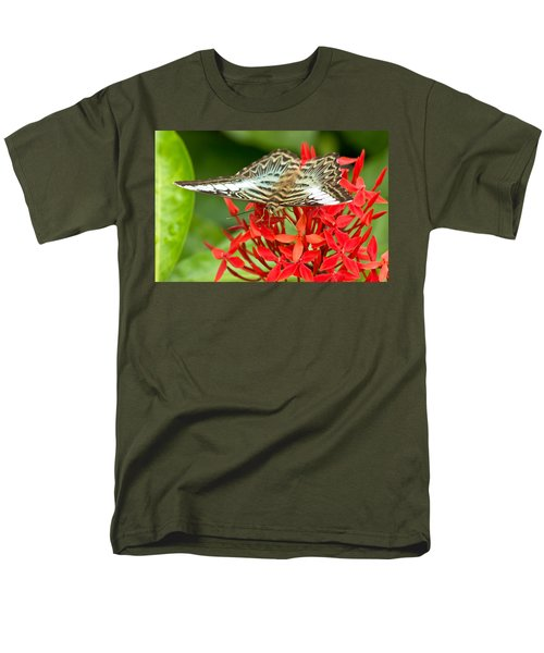 Clipper Butterfly Men's T-Shirt  (Regular Fit) by Scott Carruthers