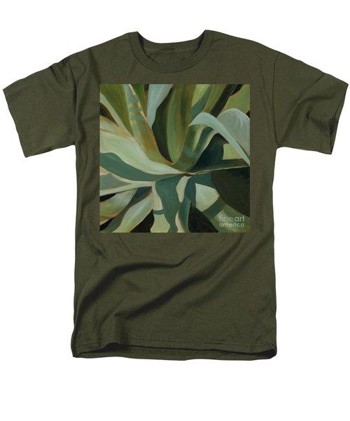 Close Cactus Men's T-Shirt  (Regular Fit) by Debbie Hart