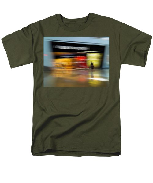 Men's T-Shirt  (Regular Fit) featuring the photograph Closing In by Alex Lapidus