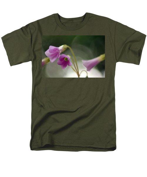 Men's T-Shirt  (Regular Fit) featuring the photograph Clover Bells by Greg Allore