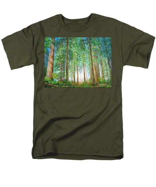 Coastal Redwoods Men's T-Shirt  (Regular Fit)