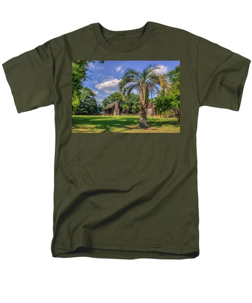 Colonial Paradise Men's T-Shirt  (Regular Fit) by Rob Sellers