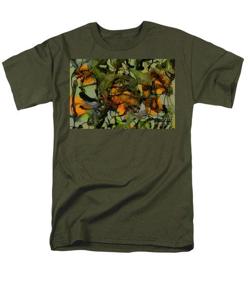 Color Abstraction Xvii Men's T-Shirt  (Regular Fit)