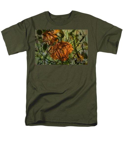 Color Abstraction Xx Men's T-Shirt  (Regular Fit) by David Gordon