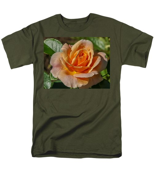 Colorful Rose Men's T-Shirt  (Regular Fit) by Jane Luxton