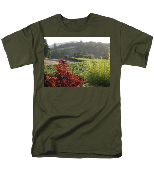 Colors Of Cali Men's T-Shirt  (Regular Fit) by Shawn Marlow