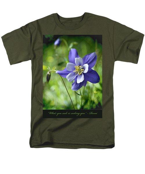 Columbine Card  Men's T-Shirt  (Regular Fit)