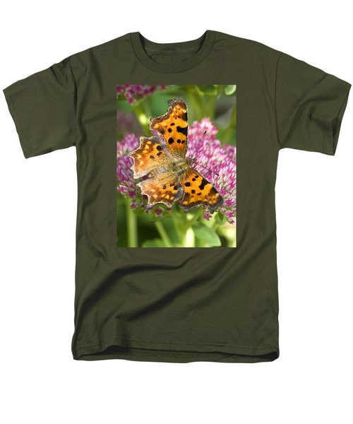 Comma Butterfly Men's T-Shirt  (Regular Fit) by Richard Thomas