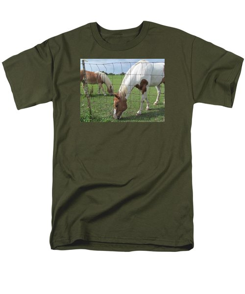 Men's T-Shirt  (Regular Fit) featuring the photograph Company Of Two by Tina M Wenger