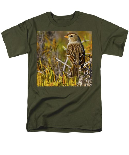 Men's T-Shirt  (Regular Fit) featuring the photograph Contemplating The Day by Gary Holmes