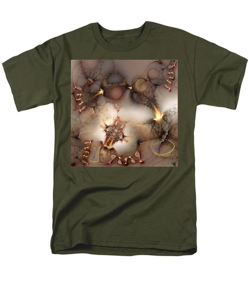 Men's T-Shirt  (Regular Fit) featuring the digital art Controversy by Casey Kotas