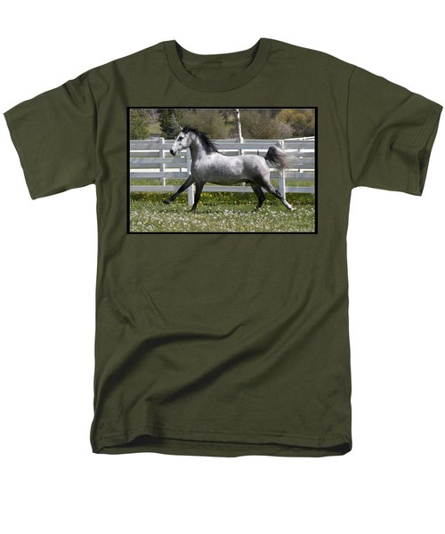 Men's T-Shirt  (Regular Fit) featuring the photograph Conversano Catalina IIi D4000 by Wes and Dotty Weber