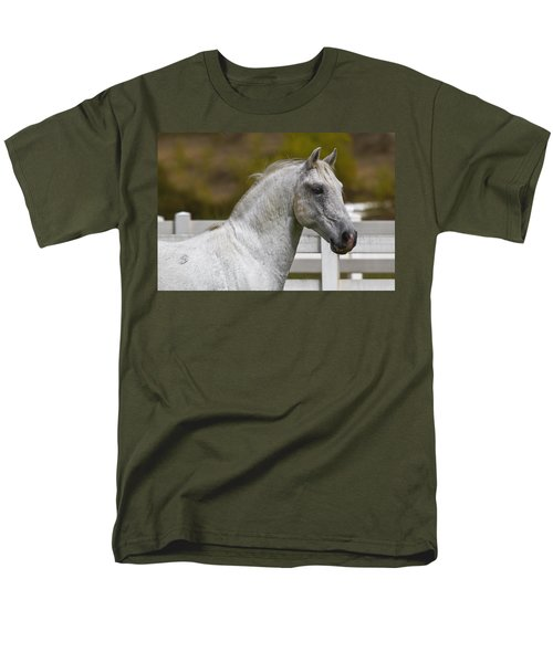 Men's T-Shirt  (Regular Fit) featuring the photograph Conversano Mima D2724 by Wes and Dotty Weber